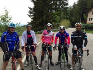 Claudio, Benoit, Audrey, Jean Marc et Victor