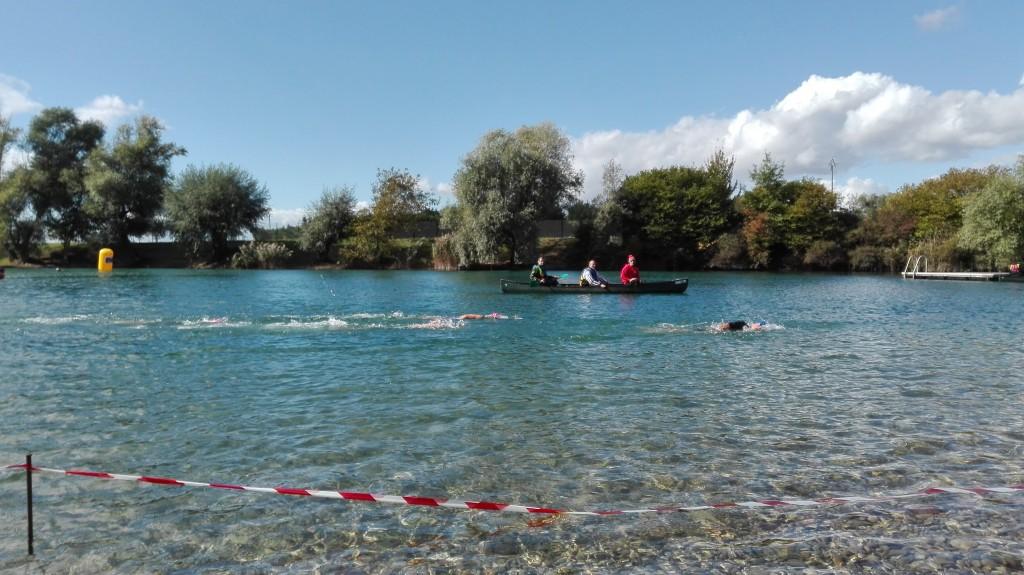 Didier fait du canoe