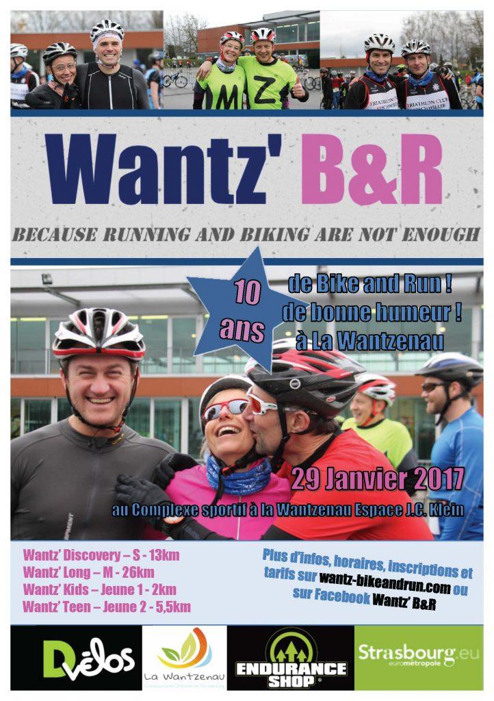 Flyer du Bike & Run 2017